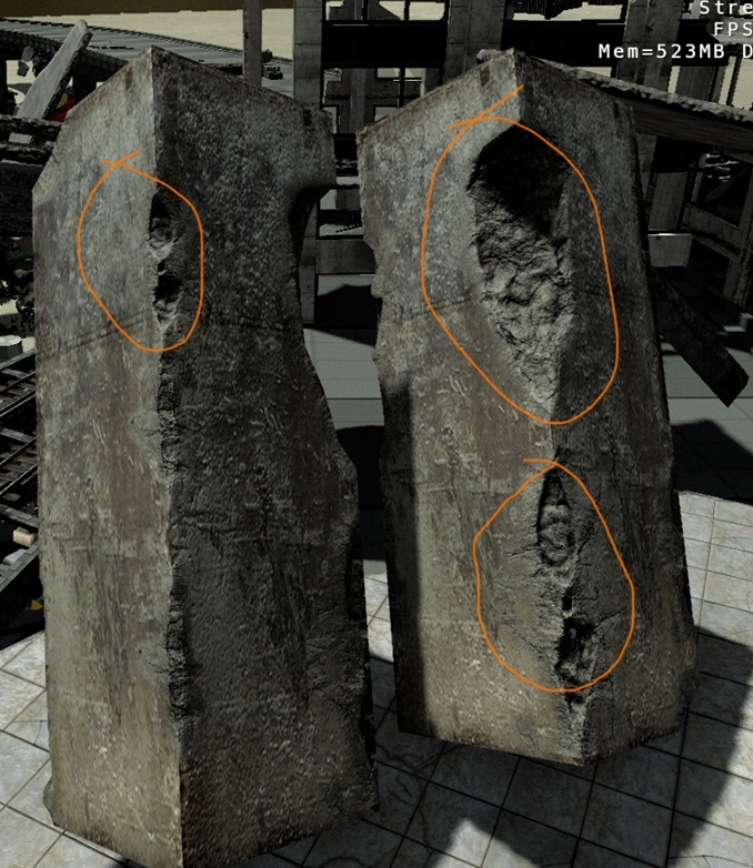 Using Decals For Destroyed Structures Cryengine 3 Manual