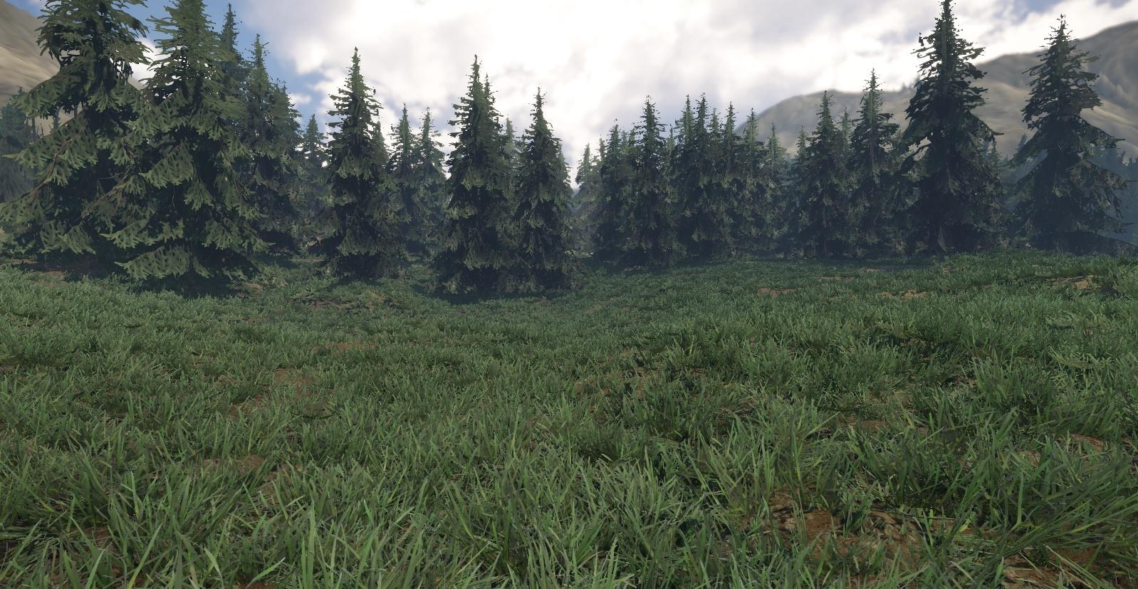 초목 - 01 잔디 (패치) 3dsMax